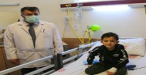 Suriyeli Muhammed 7 yıl sonra yeniden yemek yiyecek