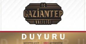 """Gaziantep Valiliği """"yeni uygulamaya 2 Mart 2021 Salı günü itibariyle başlanabilecektir"""""""