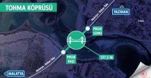 Tohma Köprüsü açılıyor...