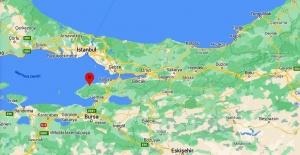 Yalova,Çınarcık Kocadere merkezli 3.2 büyüklüğünde deprem