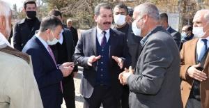 Başkan Baydilli ve Milletvekili Cevheri'den kırsalda inceleme