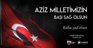 """Diyarbakır Valisi Karaloğlu """"Aziz milletimizin başı sağ olsun"""""""