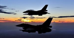 9 PKK'lı terörist,hava harekâtı ile etkisiz hâle getirildi.