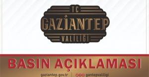 """Gaziantep Valiliği """"amaçları ibadet etmek değil, sivil itaatsizlik yapmaktır"""""""