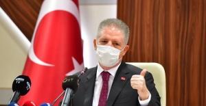 """Gaziantep Valisi Gül """"Emeklerinizin karşılığını almaya başladınız"""""""