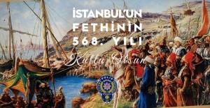 """Şanlıurfa Emn.Müdürü Doğuş """"Fatih Sultan Mehmet ve şanlı ordusunu minnet ve şükranla anıyoruz"""""""