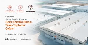 Karacadağ Kalkınma Ajansından Hazır Fabrika Binası Talep Toplama Çağrısı