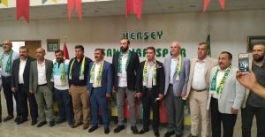 Levent Kama, Şanlıurfaspor için yönetimde görev aldı
