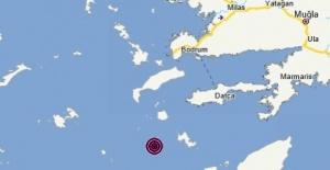 Muğla Datça açılarında 5.3 büyüklüğünde deprem