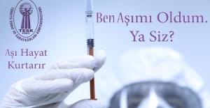 """Palandöken """"aşı için farkındalık kampanyası başlatıyoruz"""""""