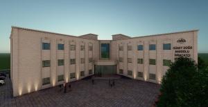 GAİB Midyat Sanat Ve Tasarım Fakültesi'ne Modern Bir Bina