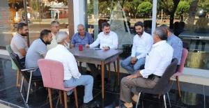 BAŞKAN BAYDİLLİ ESNAF VE VATANDAŞLARI...