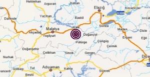 Malatya,Kale merkezli 3.7 büyüklüğünde deprem