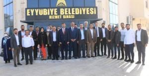 Başkan Kırıkçı Eyyübiye Teşkilatı ile Buluştu