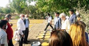 Milletvekili Aydınlık ve CHP Şanlıurfa Heyeti Hilvan'da Festivale Katıldı
