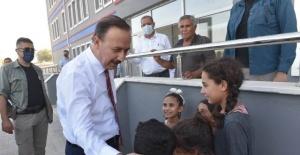 Vali Erin, Akçakale ve Harran'da Okulları Denetledi