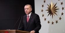 """Cumhurbaşanı Erdoğan """"bilinçli bir şekilde tedbirlere uyduğunu görüyoruz"""""""