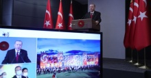 """Başkan Erdoğan """"Devlet olarak ana önceliğimiz; kendini, tarihini bilen, ahlaklı ve sağlıklı gençler yetiştirmektir"""""""