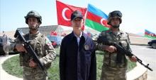 """Bakan Akar """"Azerbaycan yalnız değildir"""""""