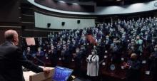 """Cumhurbaşkanı Erdoğan """"aşk ile çalışan yorulmaz"""""""