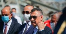 """Cumhurbaşkanı Yardımcısı Oktay """"Yaraların sarılması için Lübnan'ın yanında olmaya devam edeceğiz"""""""