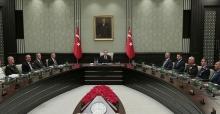 Cumhurbaşkanı Erdoğan,bugün Milli Güvenlik Kurulu toplantısına başkanlık edecek.