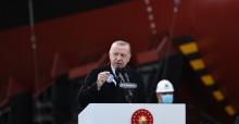"""Milli fırkateyn """"İstanbul"""" denizle buluşuyor"""