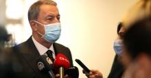 """Bakan Akar """"Yunanistan'ın Tacizine Gerekli Karşılık Verildi"""""""