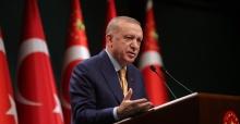 """Cumhurbaşkanı Erdoğan """"Kederli ailelerinin ve aziz milletimizin başı sağolsun"""""""