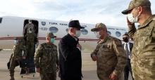 Millî Savunma Bakanı Hulusi Akar, İncelemelerde Bulunmak Üzere Şırnak'a Gitti