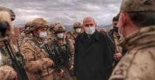 Bakan Soylu,İran sınırında incelemelerde bulundu