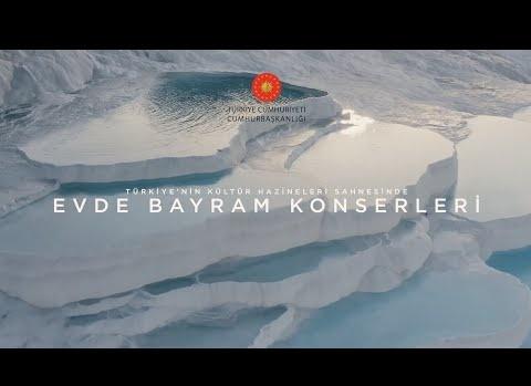 Evde Bayram Konserleri Murat Karahan ve Antalya Devlet Opera Balesi Orkestrası TSM Konseri