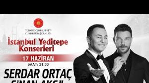 Serdar Ortaç & Sinan Akçıl - İstanbul Yeditepe Konserleri